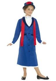 Singing Nanny 女の子s コスチューム ハロウィン 子ども コスプレ 衣装 仮装 こども イベント 子ども パーティ ハロウィーン 学芸会