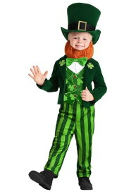 Toddler's Leprechaun コスチューム ハロウィン 子ども コスプレ 衣装 仮装 こども イベント 子ども パーティ ハロウィーン 学芸会