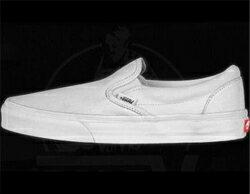US規格 VANS バンズ オーダーメイド スリッポン SLIP ON スニーカー シューズ 靴 レディス 女性用