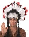 インディアン 髪飾り コスプレ ヘッドレス ハロウィン 衣装 コスチューム 羽根飾り ハロウィン 仮装 学園祭 文化祭 学祭 大学祭 高校 イベント