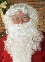 2点セット!!本格的 サンタ サンタクロース ウィッグ かつら ひげ 誕生日 男性 メンズ コスチューム コスプレ 男性 メ…