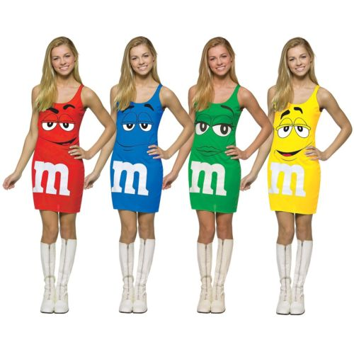 M&M Red Tank ドレス キッズ 子供用 M&M's ハロウィン コスチューム コスプレ 衣装 変装 仮装