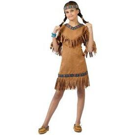 インディアンガール Native American キッズ 子供用 or Thanksgiving ハロウィン コスチューム コスプレ 衣装 変装 仮装