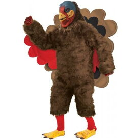 Deluxe Plush Turkey 大人用 Thanksgiving ハロウィン コスチューム コスプレ 衣装 変装 仮装