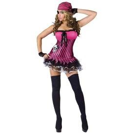 Rockin' Skull Pirate 大人用 レディス 女性用 セクシー Vixen Wench ハロウィン コスチューム コスプレ 衣装 変装 仮装
