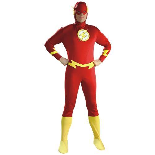 The Flash 大人用 Justice League ジャスティスリーグスーパーヒーロー ハロウィン コスチューム コスプレ 衣装 変装 仮装