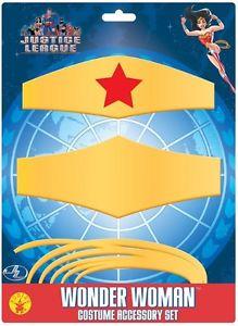Wonder Woman Kit Justice League ジャスティスリーグスーパーヒーロー Set 子供用 アクセサリー ハロウィン コスチューム コスプレ 衣装 変装 仮装