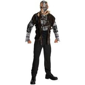 【スーパーSALE 全品P5倍】Deluxe Terminator ターミネーター4 T600 大人用 The Terminator ターミネーター クリスマス ハロウィン コスチューム コスプレ 衣装 変装 仮装