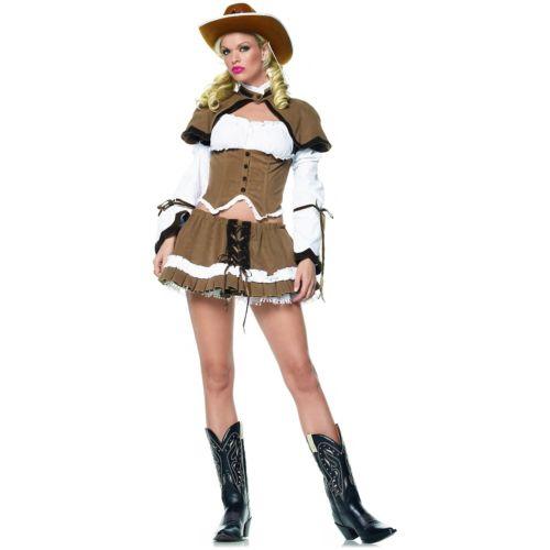 Sheriff Cowgirl 大人用 Western Cowboy ワイルド West ハロウィン コスチューム コスプレ 衣装 変装 仮装