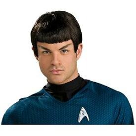 Spock ウィッグ 大人用 男性用 メンズ Star Trek スタートレック VulcanPeluca クリスマス ハロウィン コスチューム コスプレ 衣装 変装 仮装