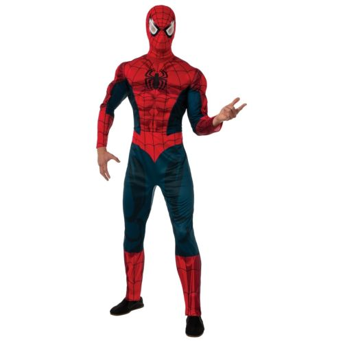 大人用 Spider-Man スパイダーマン Marvel マーブルSuperhero ハロウィン コスチューム コスプレ 衣装 変装 仮装
