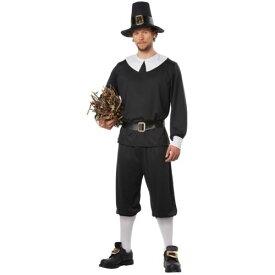 Pilgrim Man 大人用 Thanksgiving ハロウィン コスチューム コスプレ 衣装 変装 仮装