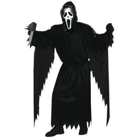 【ポイント5倍】ゴースト 幽霊 お化け ゾンビ Face 大人用 Scream 怖い Horror Movie クリスマス ハロウィン コスチューム コスプレ 衣装 変装 仮装