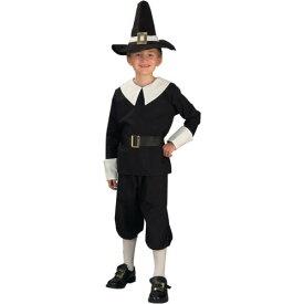 Pilgrim Boy キッズ 子供用 Thanksgiving ハロウィン コスチューム コスプレ 衣装 変装 仮装