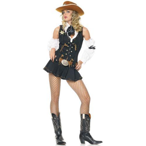 ワイルド West Sheriff 大人用 カウガール ハロウィン コスチューム コスプレ 衣装 変装 仮装