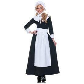 Pilgrim 大人用 レディス 女性用 Thanksgiving ハロウィン コスチューム コスプレ 衣装 変装 仮装