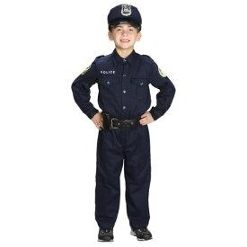 Jr Police ポリス 警察 おまわりさん Officer キッズ 子供用 クリスマス ハロウィン コスチューム コスプレ 衣装 変装 仮装