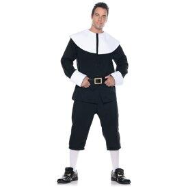 Pilgrim 大人用 男性用 メンズ Thanksgiving ハロウィン コスチューム コスプレ 衣装 変装 仮装