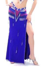 セクシー ベリーダンス 衣装 Bifurcatio slit ドレス スカート 11 カラー コスチューム ダンス 衣装 発表会