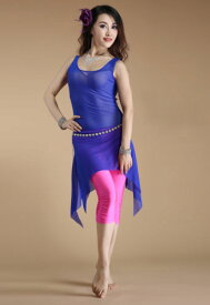 ベリーダンス 衣装 ドレス Jumpsuit ロング スカート ドレス Free Shipping 8 カラー コスチューム ダンス 衣装 発表会