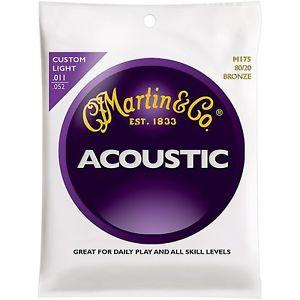 マーチン Martin M175 Traditional Bronze カスタム Light アコースティック ギター アコギ Strings