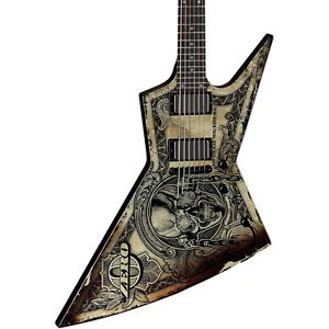 """ディーン Dean Zero Dave Mustaine """"In Deth We Trust"""" エレキギター エレクトリックギター Graphic Rosewood FB"""