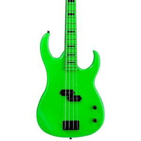 【全品ポイント5倍】ディーン Dean Custom Zone 4-String Bass Guitar Nuclear Green