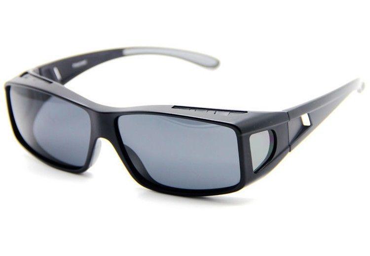 オーバーグラス サングラス 偏光 オーバーサングラス アックス メガネの上から 偏光サングラス