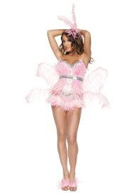 セクシー Pink Flamingo コスチューム ハロウィン レディース コスプレ 衣装 女性 仮装 女性用 イベント パーティ ハロウィーン 学芸会 学園祭 学芸会 ショー お遊戯会 二次会 忘年会 新年会 歓迎会 送迎会 出し物 余興 誕生日 発表会 バレンタイン ホワイトデー