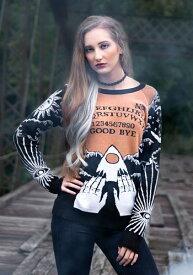 Celestial Spirit Board 大人用 Halloween Sweater ハロウィン レディース コスプレ 衣装 女性 仮装 女性用 イベント パーティ ハロウィーン 学芸会