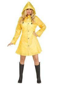 Women's Yellow Raincoat コスチューム ハロウィン レディース コスプレ 衣装 女性 仮装 女性用 イベント パーティ ハロウィーン 学芸会