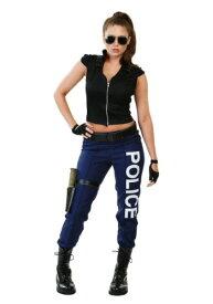 《全品P5倍 クーポン多数有》Women's Tactical ポリス 警察 大きいサイズ コスチューム ハロウィン レディース コスプレ 衣装 女性 仮装 女性用 イベント パーティ ハロウィーン 学芸会
