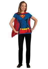 Super女の子 T-Shirt コスチューム ハロウィン レディース コスプレ 衣装 女性 仮装 女性用 イベント パーティ ハロウィーン 学芸会