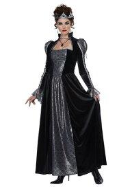 Womens Dark Majesty コスチューム ハロウィン レディース コスプレ 衣装 女性 仮装 女性用 イベント パーティ ハロウィーン 学芸会