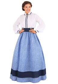 Prairie Dress コスチューム for Women ハロウィン レディース コスプレ 衣装 女性 仮装 女性用 イベント パーティ ハロウィーン 学芸会