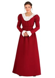 Abigail Adams コスチューム for Women ハロウィン レディース コスプレ 衣装 女性 仮装 女性用 イベント パーティ ハロウィーン 学芸会