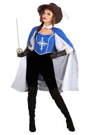 Women's Musketeer コスチューム ハロウィン レディース コスプレ 衣装 女性 仮装 女性用 イベント パーティ ハロウィーン 学芸会