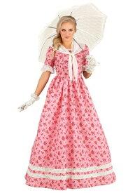 Lovely Southern Belle コスチューム for Women ハロウィン レディース コスプレ 衣装 女性 仮装 女性用 イベント パーティ ハロウィーン 学芸会
