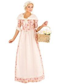 Colonial Dress コスチューム for Women ハロウィン レディース コスプレ 衣装 女性 仮装 女性用 イベント パーティ ハロウィーン 学芸会
