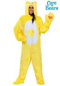 大きいサイズ ケアベア Funshine Bear コスチューム ハロウィン レディース コスプレ 衣装 女性 仮装 女性用 イベント パーティ ハロウィーン 学芸会