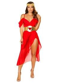 Women's Goddess of Love コスチューム ハロウィン レディース コスプレ 衣装 女性 仮装 女性用 イベント パーティ ハロウィーン 学芸会
