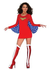 Women's Wonder Woman DC マント ケープ Dress コスチューム ハロウィン レディース コスプレ 衣装 女性 仮装 女性用 イベント パーティ ハロウィーン 学芸会