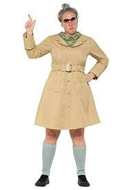 Matilda Miss Trunchbull コスチューム for Women ハロウィン レディース コスプレ 衣装 女性 仮装 女性用 イベント パーティ ハロウィーン 学芸会