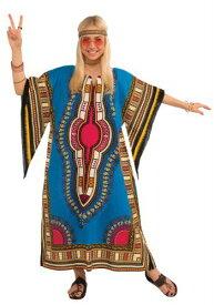 Womens Dashiki Dress コスチューム ハロウィン レディース コスプレ 衣装 女性 仮装 女性用 イベント パーティ ハロウィーン 学芸会