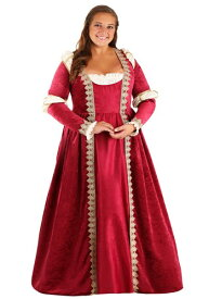 Women's 大きいサイズ Crimson Maiden コスチューム ハロウィン レディース コスプレ 衣装 女性 仮装 女性用 イベント パーティ ハロウィーン 学芸会