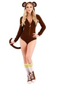 Sassy Monkey コスチューム for Women ハロウィン レディース コスプレ 衣装 女性 仮装 女性用 イベント パーティ ハロウィーン 学芸会