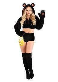 Women Snazzy Bear コスチューム ハロウィン レディース コスプレ 衣装 女性 仮装 女性用 イベント パーティ ハロウィーン 学芸会