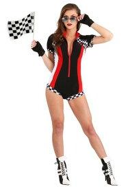 Snappy Racer コスチューム for Women ハロウィン レディース コスプレ 衣装 女性 仮装 女性用 イベント パーティ ハロウィーン 学芸会