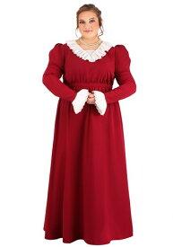 大きいサイズ Abigail Adams コスチューム for Women ハロウィン レディース コスプレ 衣装 女性 仮装 女性用 イベント パーティ ハロウィーン 学芸会