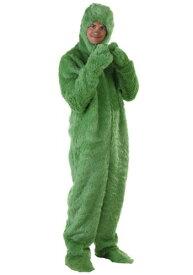 大きいサイズ 大人用 Green Furry Jumpsuit ハロウィン レディース コスプレ 衣装 女性 仮装 女性用 イベント パーティ ハロウィーン 学芸会